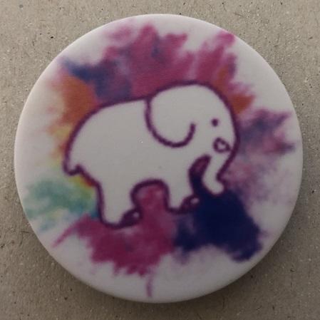 Držák PopSocket - barva bílá, slon