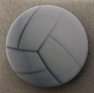 Držák PopSocket - barva bílá, volejbalový míč