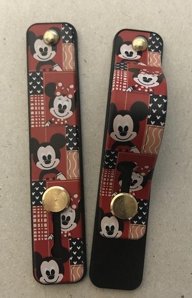 Držák PopSocket Typ 2 - barva červená, Mickey Mouse