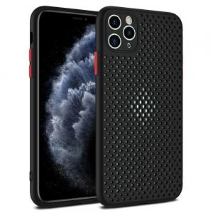 Pouzdro Breath Case Samsung A415 Galaxy A41, barva černá