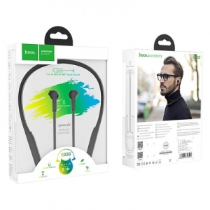 Bluetooth headset HOCO ES33 Sport barva černá