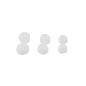 Náhradní špunty pro HF, barva bílá -sada 3 velikosti