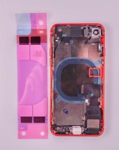Kryt baterie + střední iPhone 8 (4,7) originál barva red - OSAZENÝ