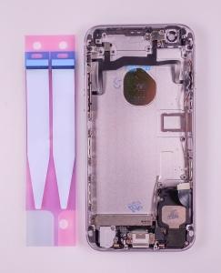 Kryt baterie + střední iPhone 6S 4,7 originál barva grey - OSAZENÝ