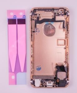 Kryt baterie + střední iPhone 6S 4,7 originál barva gold - OSAZENÝ