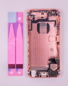 Kryt baterie + střední iPhone 6S 4,7 originál barva rose gold - OSAZENÝ