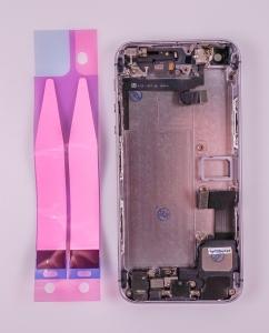 Kryt baterie + střední iPhone 5S originál barva black - OSAZENÝ