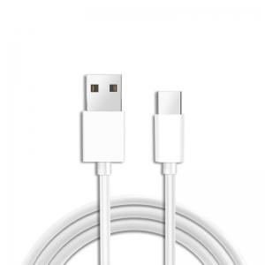 Datový kabel micro USB Typ C barva bílá (8mm konektor)