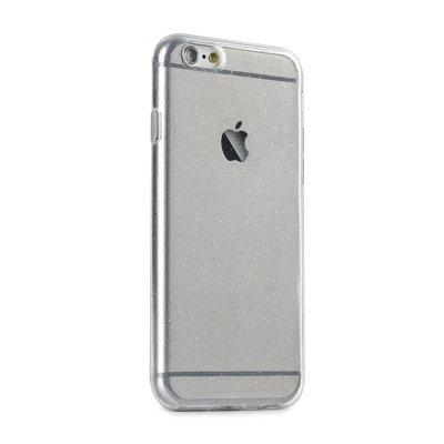 Pouzdro Back Case Ultra Slim Glitter 0,5mm iPhone XR (6,1) transparentní