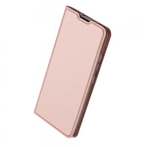 Pouzdro Dux Duxis Skin Pro Huawei Y6p, barva rose gold