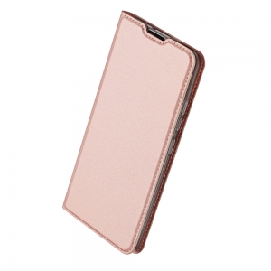 Pouzdro Dux Duxis Skin Pro Samsung A405 Galaxy A40, barva rose gold