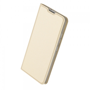 Pouzdro Dux Duxis Skin Pro Samsung A105 Galaxy A10, barva zlatá