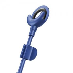 Datový kabel Baseus s držákem, Lightning konektor, barva modrá