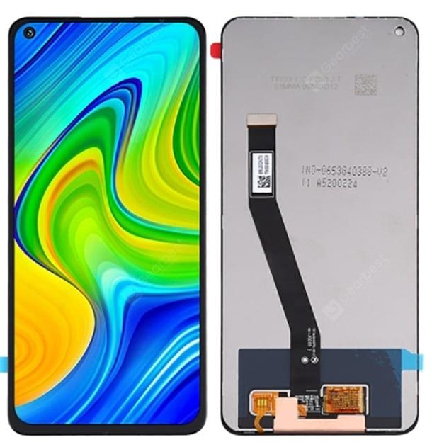 Dotyková deska Xiaomi Redmi NOTE 9 + LCD černá