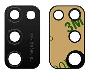 Sklíčko zadní kamery Samsung A415 Galaxy A41 černá