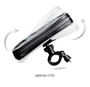 Držák na kolo Wildman H16, barva černá, velikost 4,7´´ - 6,5´´