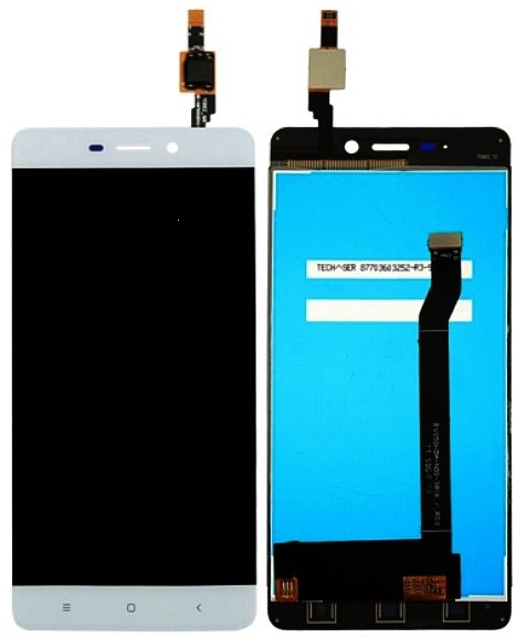 Dotyková deska Xiaomi Redmi 4 + LCD bílá