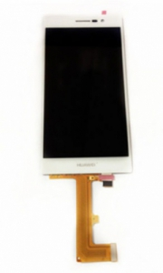 Dotyková deska Huawei P7 + LCD bílá