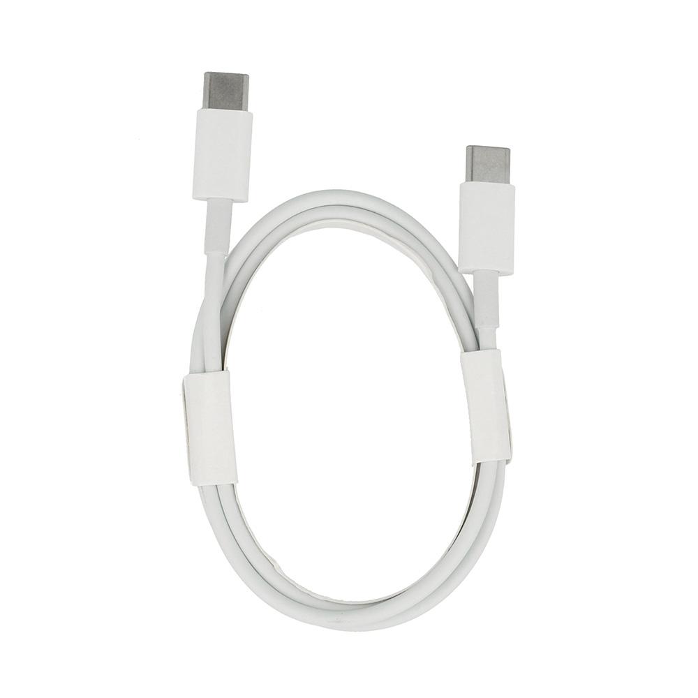 Datový kabel micro USB Typ C na micro USB Typ C, barva bílá