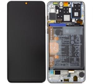 Dotyková deska Huawei P30 LITE + LCD černá (SERVICE PACK)