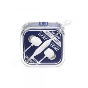 Hands Free REMAX RM-550 3,5 mm jack, barva bílá