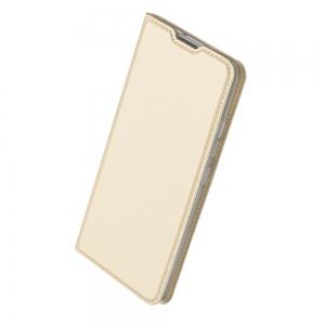Pouzdro Dux Duxis Skin Pro iPhone 12, 12 Pro (6,1), barva zlatá