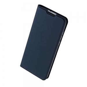 Pouzdro Dux Duxis Skin Pro iPhone 12, 12 Pro (6,1), barva modrá