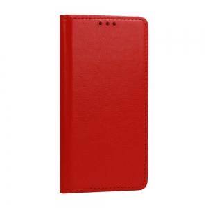 Pouzdro Book Leather Special iPhone 12, 12 Pro (6,1), barva červená