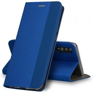 Pouzdro Sensitive Book iPhone 12, 12 Pro (6,1), barva modrá