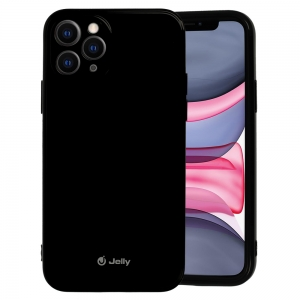 Pouzdro MERCURY Jelly Case iPhone 12, 12 Pro (6,1) černá