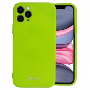Pouzdro MERCURY Jelly Case iPhone 12, 12 Pro (6,1) limetka