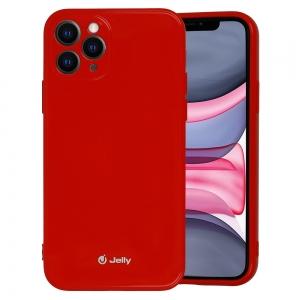 Pouzdro MERCURY Jelly Case iPhone 12, 12 Pro (6,1) červená