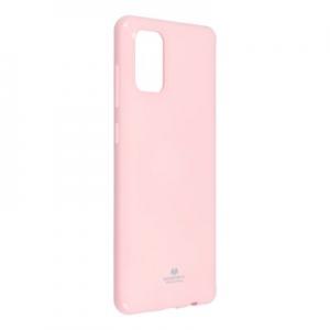 Pouzdro MERCURY Jelly Case iPhone 12, 12 Pro (6,1) světle růžová
