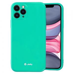 Pouzdro MERCURY Jelly Case iPhone 12, 12 Pro (6,1) mint