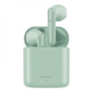 Bluetooth headset Baseus TWS W09, barva mint