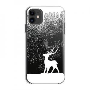Pouzdro Winter iPhone 12, 12 Pro (6,1), vzor sob