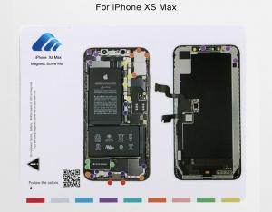 Magnetická podložka na opravu telefonu iPhone XS MAX