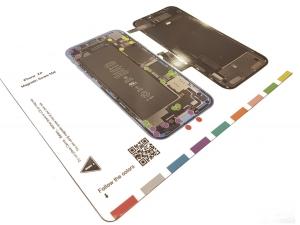 Magnetická podložka na opravu telefonu iPhone XR