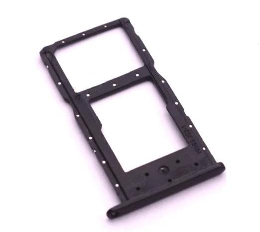 Držák (šuplík) SIM Huawei HONOR 10 Lite černá