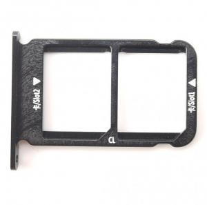 Držák (šuplík) SIM Huawei HONOR 10 černá
