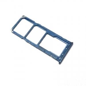 Držák (šuplík) SIM Samsung A105 Galaxy A10 blue