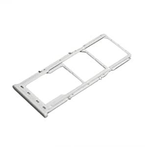 Držák (šuplík) SIM Samsung A705 Galaxy A70 white