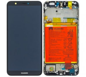 Dotyková deska Huawei P SMART + LCD černá (SERVICE PACK)