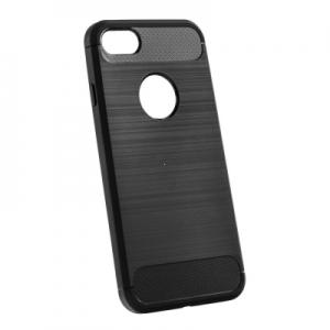 Pouzdro CARBON iPhone 12, 12 Pro (6,1) černá