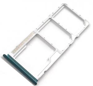 Držák (šuplík) SIM Xiaomi Redmi NOTE 9 green