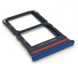 Držák (šuplík) SIM Xiaomi Mi 10 Lite blue
