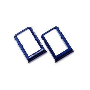 Držák (šuplík) SIM Xiaomi Mi 8 blue