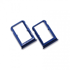 Držák (šuplík) SIM Xiaomi Mi 9 blue