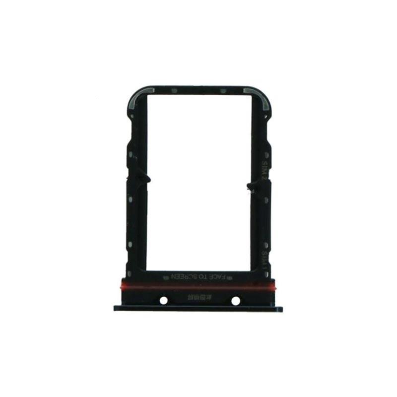 Držák (šuplík) SIM Xiaomi Mi NOTE 10 black