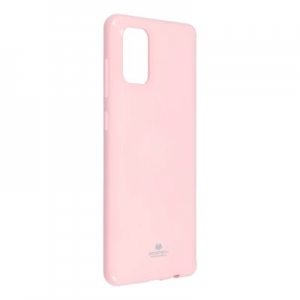 Pouzdro MERCURY Jelly Case iPhone 12 Pro Max (6,7) světle růžová